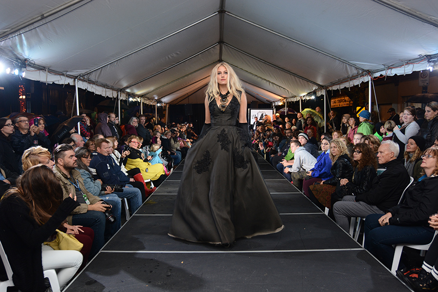Supercrawl Fashion Show (Cyprian Estrada)