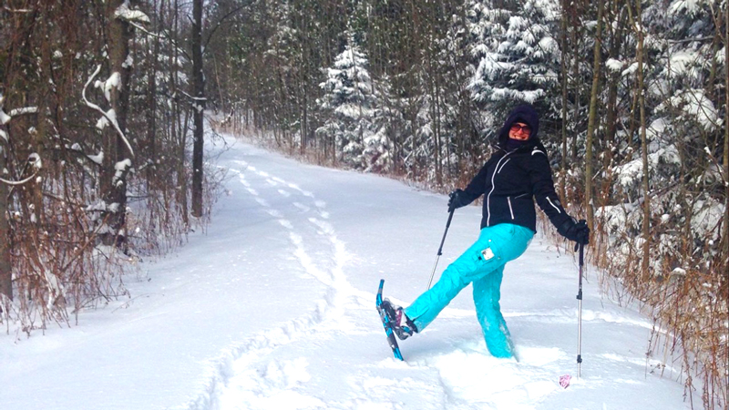 snowshoeing in hamilton