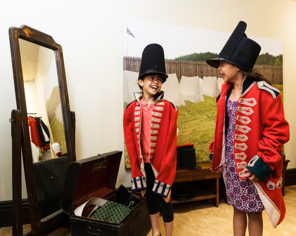 Military Museum Dundurn Dress-up