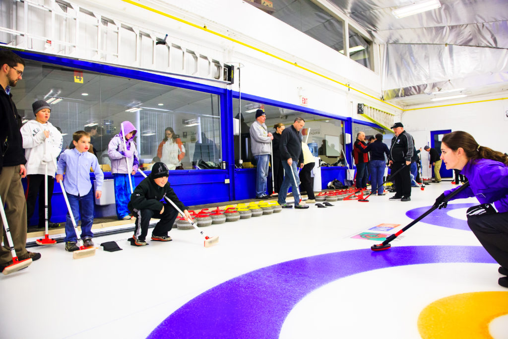 Curling in Hamilton Winterfest
