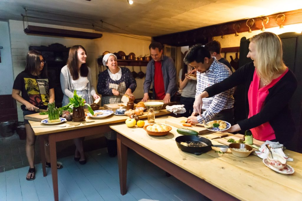 Chef workshop at Dundurn National Historic Site