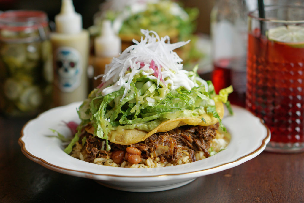 Hamilton Mezcal Taco Salad Tuesday Food Deal