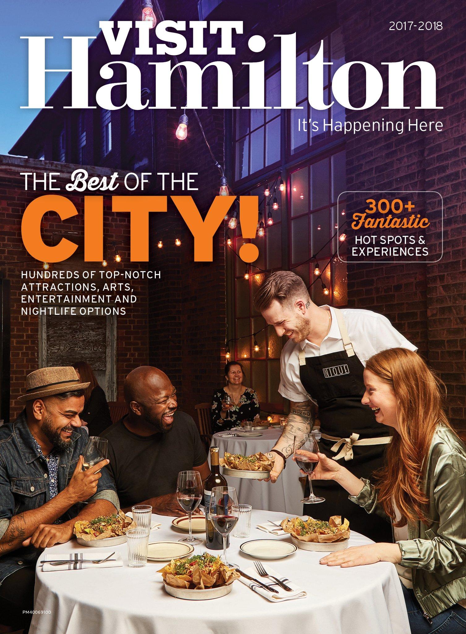 Visit Hamilton Cover
