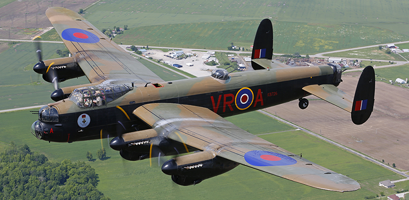 Avro Lancaster Canadian Warplane