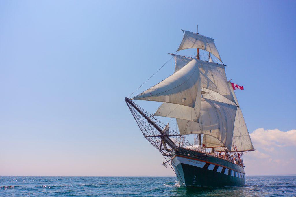 Tall Ships Hamilton Canada Fair Jeanne