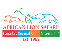 Logo and link to the African Lion Safari