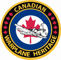 Logo and link to the Canadian Warplane Heritage Museum