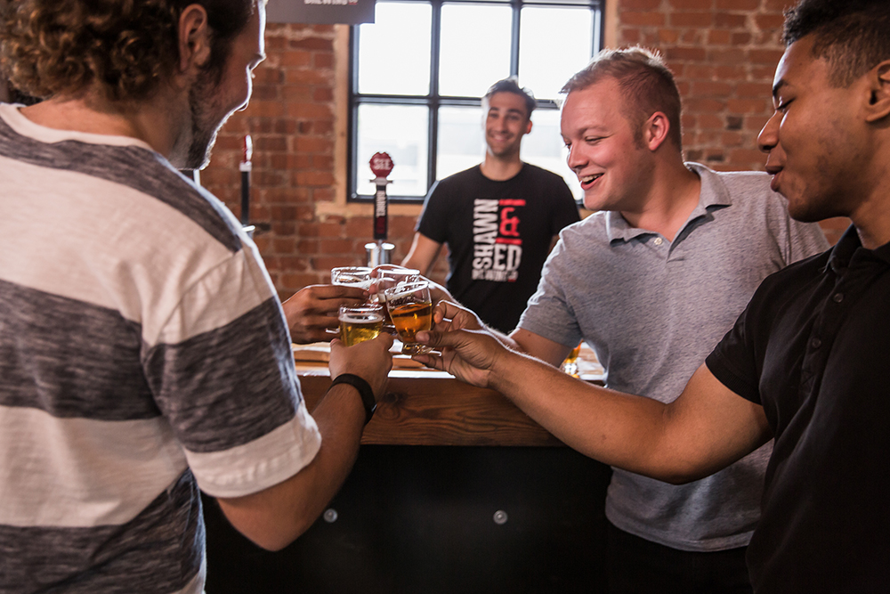 Arts and draught: A thirst-quenching look at new breweries pouring into Hamilton. Shawn & Ed Brewery -photo credit The Heart Of Ontario