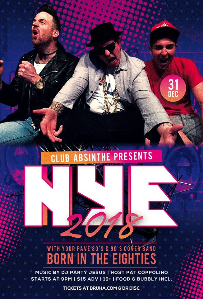 Absinthe NYE 2018