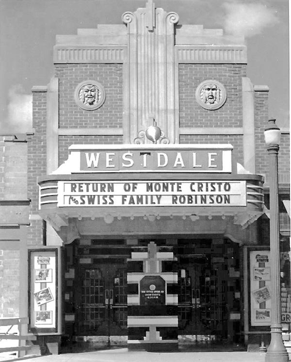 Westdale Theatre vintage photo