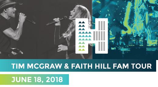 Tim McGraw & Faith Hill Fam Tour