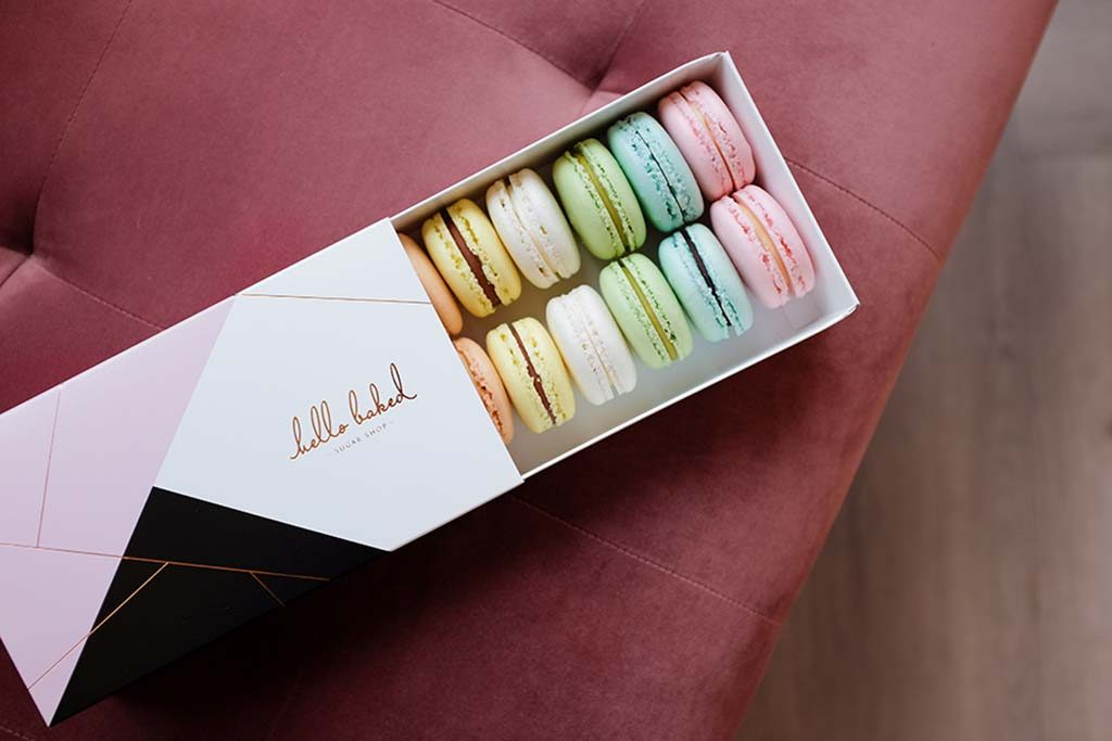 French Macarons from newly opened Hello Baked
