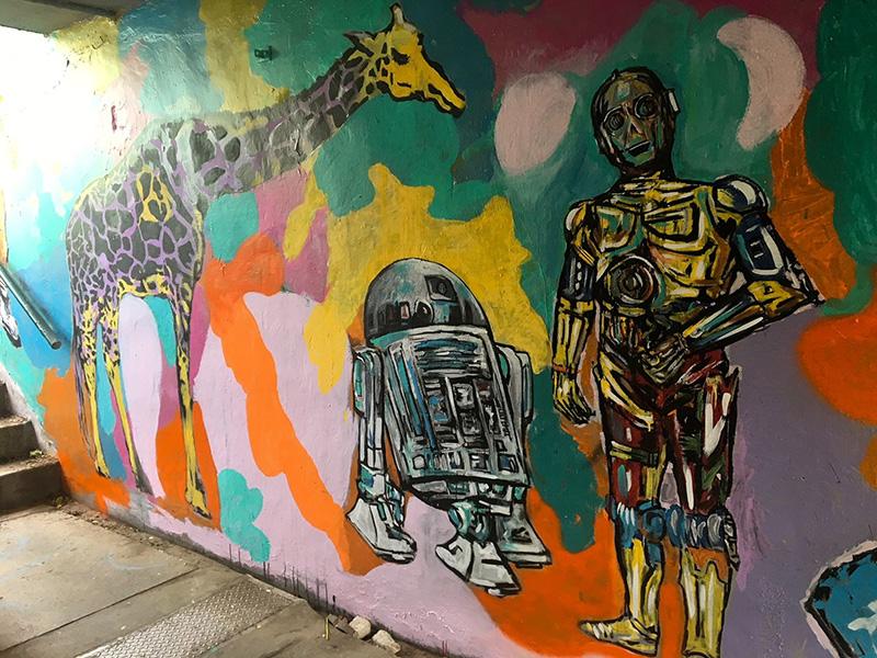 Murals - MacNab Street Tunnel