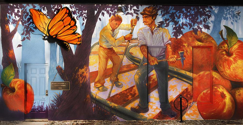Murals - Corktown Mural